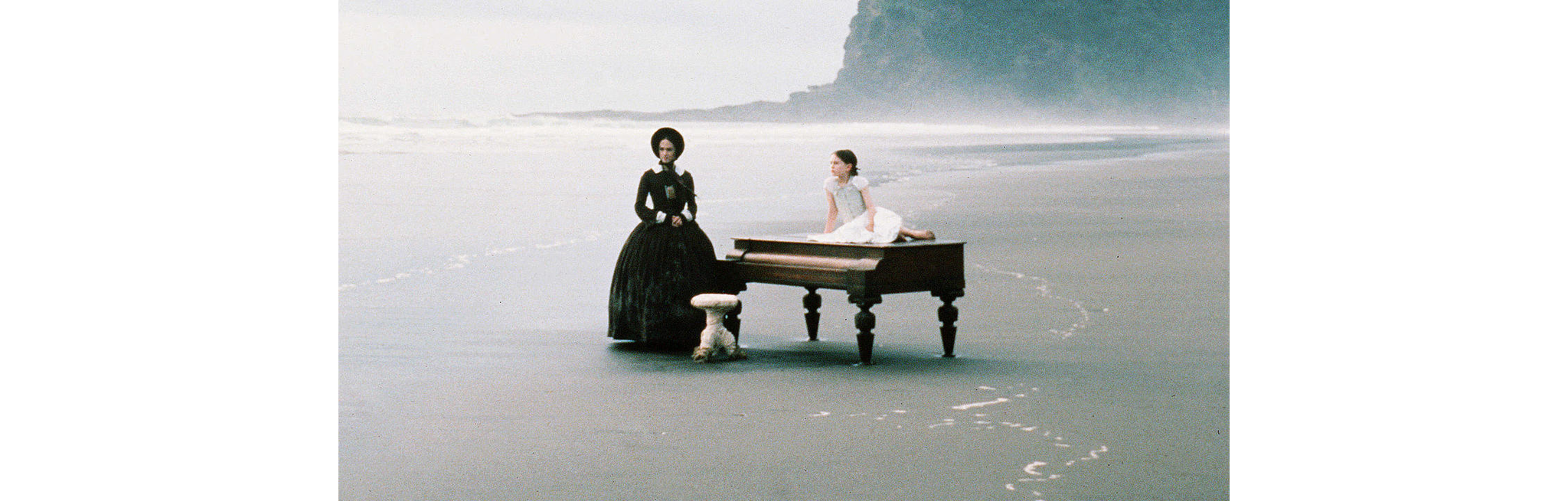 "Movie poster for ""The Piano"""