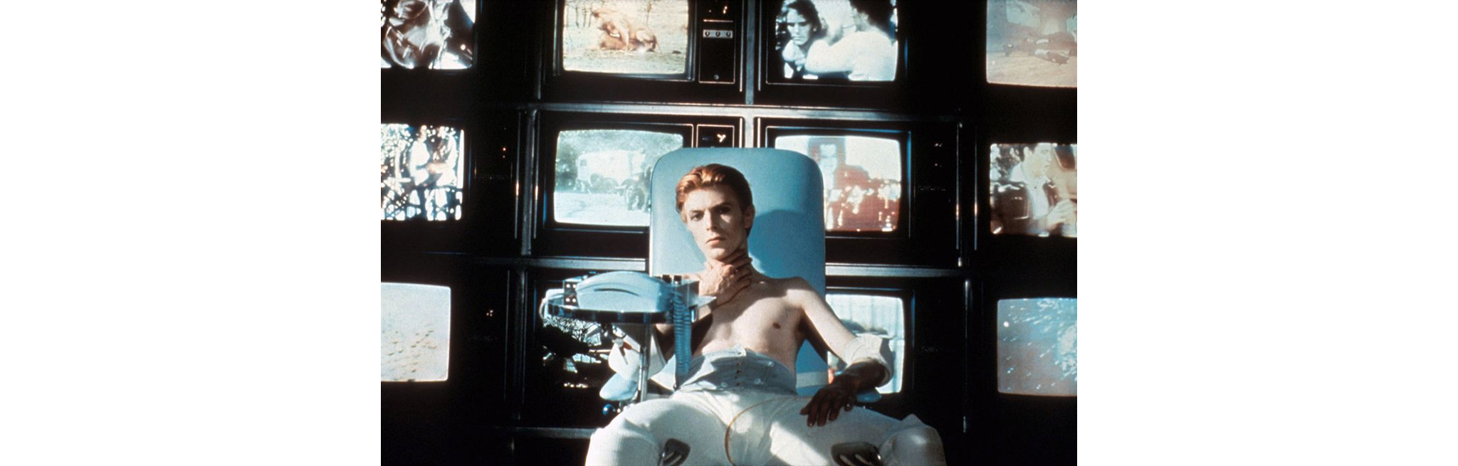 "Movie poster for ""THE MAN WHO FELL TO EARTH (1976)"""