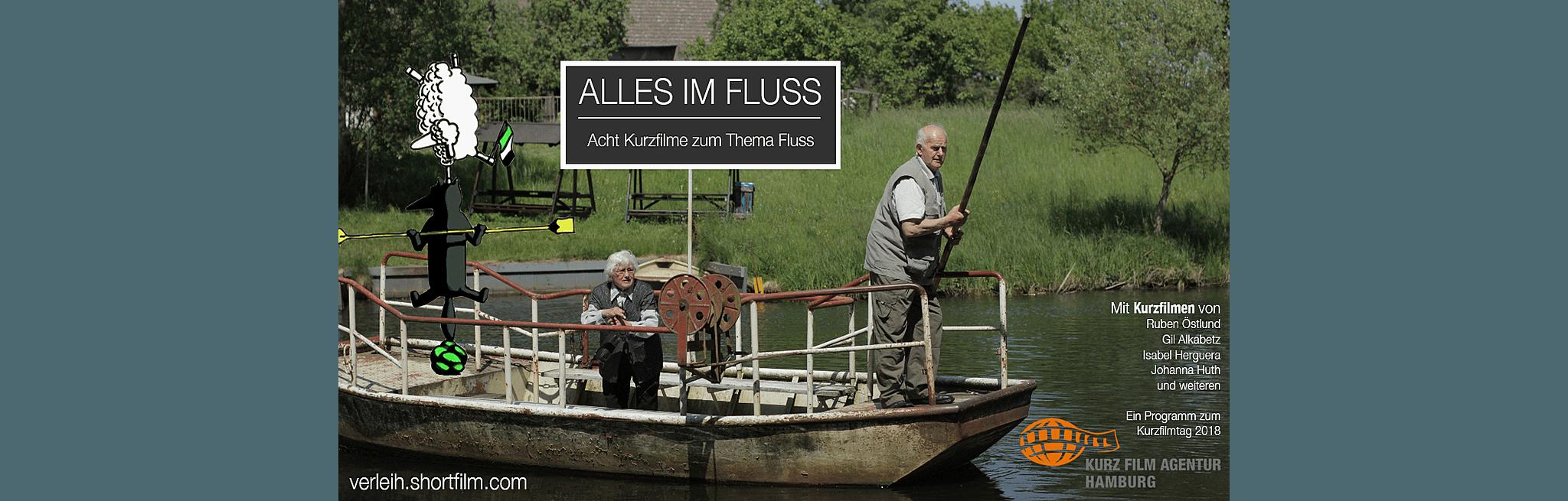 """Filmplakat für """"Alles im Fluss (Der Kurzfilmtag 2018)"""""""