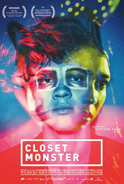 "Filmplakat für ""CLOSET MONSTER"""