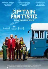 """Filmplakat für """"Captain Fantastic - Einmal Wildnis und zurück"""""""
