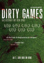 """Filmplakat für """"Dirty Games"""""""
