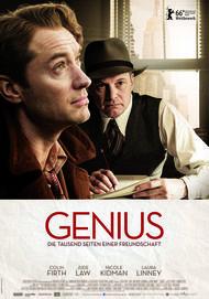 "Filmplakat für ""GENIUS"""