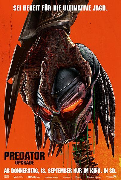 """Filmplakat für """"Predator - Upgrade"""""""