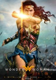 "Filmplakat für ""WONDER WOMAN"""