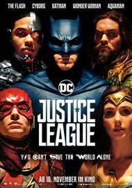 "Filmplakat für ""JUSTICE LEAGUE"""