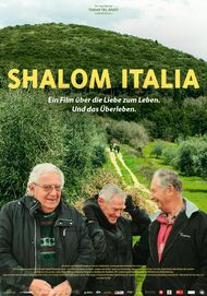 "Movie poster for ""SHALOM ITALIA"""