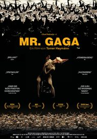 """Filmplakat für """"MR. GAGA"""""""