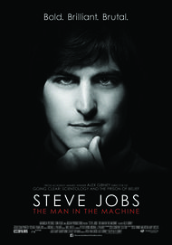 "Movie poster for ""STEVE JOBS: THE MAN IN THE MACHINE"""