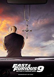 "Filmplakat für ""FAST & FURIOUS 9"""