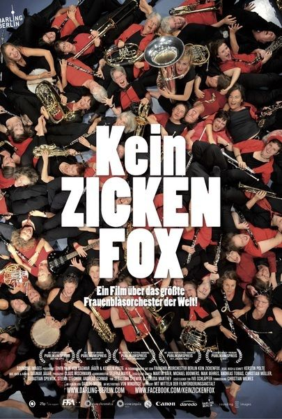 "Movie poster for ""Kein Zickenfox"""