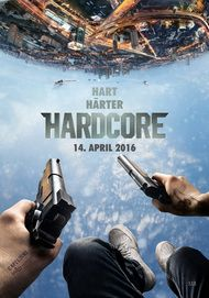 "Movie poster for ""HARDCORE HENRY"""
