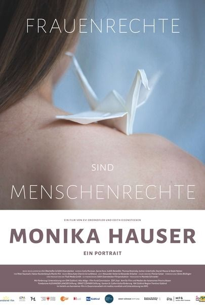 """Filmplakat für """"Monika Hauser - Ein Porträt"""""""