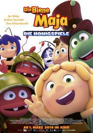 """Movie poster for """"MAYA THE BEE: THE HONEY GAMES"""""""