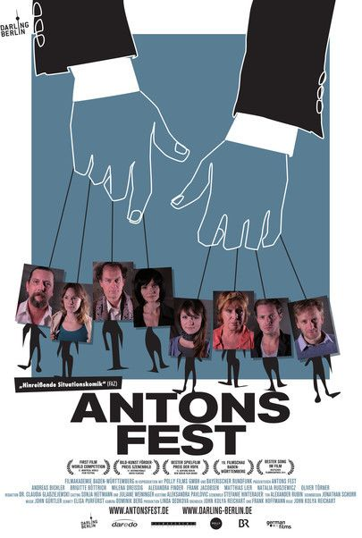 "Movie poster for ""Antons Fest"""