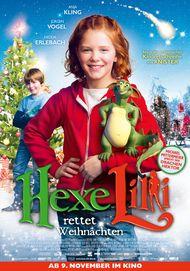 """Movie poster for """"Hexe Lilli rettet Weihnachten"""""""