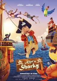 "Movie poster for ""Käpt'n Sharky"""
