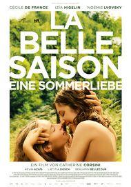 """Filmplakat für """"La belle saison - Eine Sommerliebe"""""""