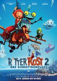 """Movie poster for """"Ritter Rost 2 - Das Schrottkomplott"""""""