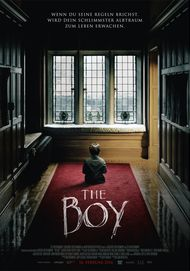 "Movie poster for ""The Boy"""