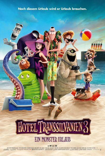 """Filmplakat für """"Hotel Transsilvanien 3 - Ein Monster Urlaub"""""""