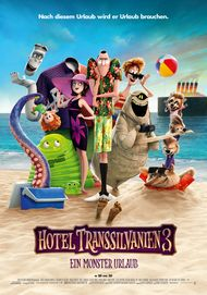 "Movie poster for ""Hotel Transylvania 3: Summer Vacation"""
