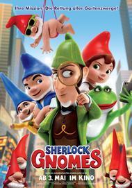 """Filmplakat für """"Sherlock Gnomes"""""""