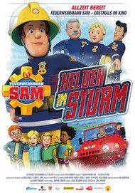 """Movie poster for """"Fireman Sam - Heroes of the Storm"""""""