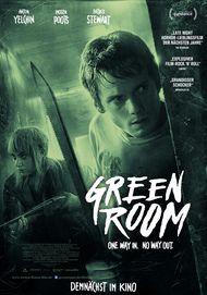 """Filmplakat für """"GREEN ROOM"""""""
