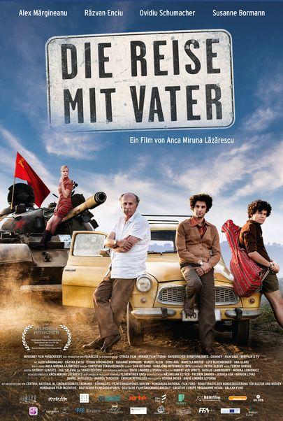 """Filmplakat für """"Die Reise mit Vater"""""""