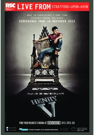 "Movie poster for ""HENRY V"""