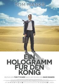 "Movie poster for ""A HOLOGRAM FOR THE KING"""