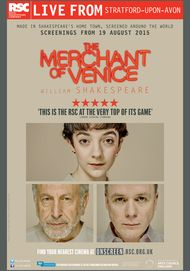 "Movie poster for ""THE MERCHANT OF VENICE"""
