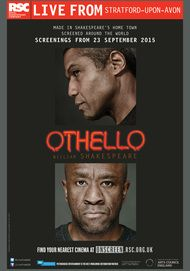 "Movie poster for ""OTHELLO - Royal Opera House"""