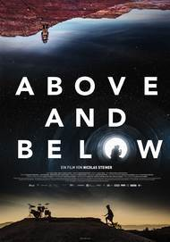 "Filmplakat für ""Above and Below"""