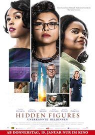 "Filmplakat für ""Hidden Figures - Unerkannte Heldinnen"""