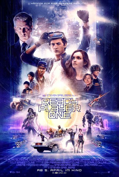 """Filmplakat für """"READY PLAYER ONE"""""""