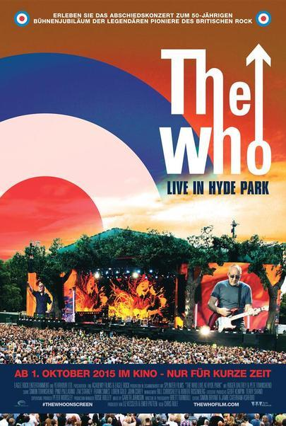 "Filmplakat für ""The Who - Live in Hyde Park"""