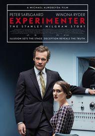 "Movie poster for ""EXPERIMENTER"""
