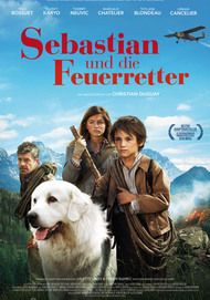 """Filmplakat für """"Sebastian und die Feuerretter"""""""