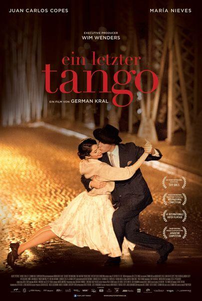 """Filmplakat für """"Ein letzter Tango"""""""