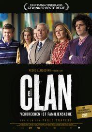 """Movie poster for """"EL CLAN"""""""
