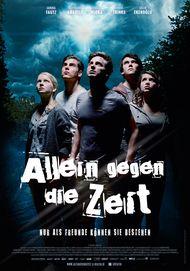 """Filmplakat für """"Allein gegen die Zeit - Der Film"""""""