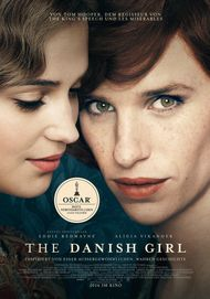 "Filmplakat für ""THE DANISH GIRL"""