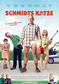 "Movie poster for ""Schmidts Katze"""