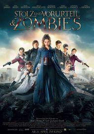 """Filmplakat für """"Stolz und Vorurteil & Zombies"""""""