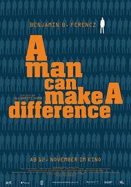 "Filmplakat für ""A man can make a difference"""