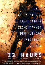 """Filmplakat für """"13 HOURS"""""""