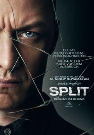 """Filmplakat für """"SPLIT"""""""