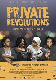 """Filmplakat für """"Private Revolutions - Jung, Weiblich, Ägyptisch"""""""